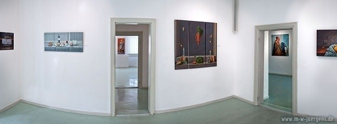 New Realism Art, Baumhaus Wismar, Manfred W. Jürgens, Exhibitionss