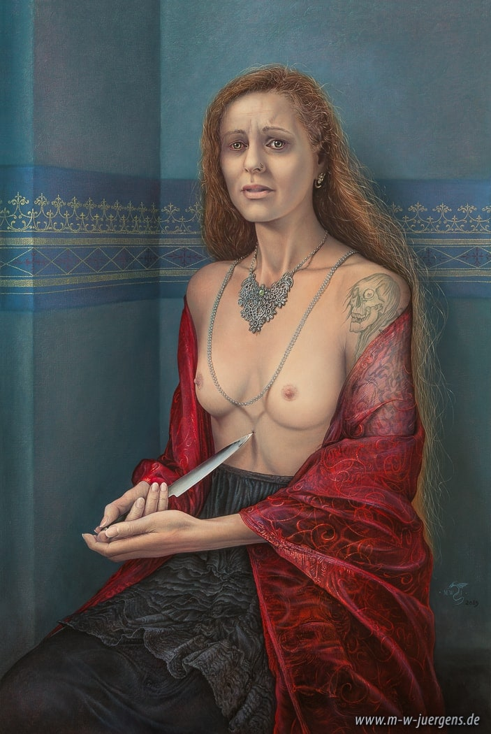 Lucretia New Realism Art, Manfred W. Juergens